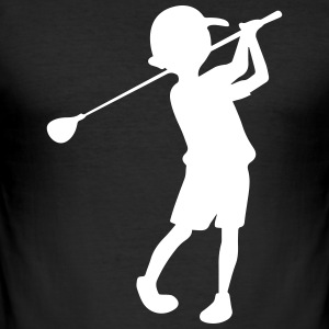 golfer - Men's Slim Fit T-Shirt