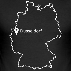 Place to be: Dusseldorf - slim fit T-shirt