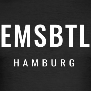Eimsbüttel - EMSBTL Hamburg - Men's Slim Fit T-Shirt