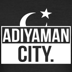 Adiyaman City - Männer Slim Fit T-Shirt