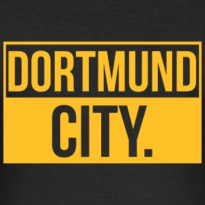 Dortmund City - Slim Fit T-shirt herr