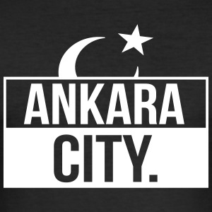 Ankara City - Men's Slim Fit T-Shirt