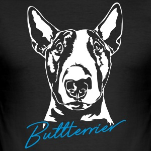 Bull Terrier - Herre Slim Fit T-Shirt
