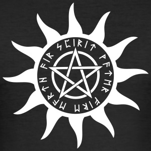 pentagram - Men's Slim Fit T-Shirt