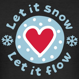 Let_It_Snow - Men's Slim Fit T-Shirt