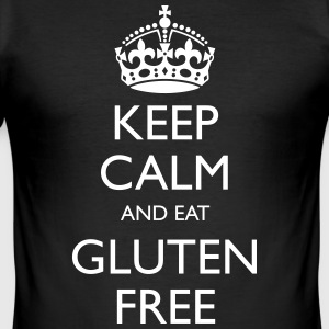 Keep Calm And Eat Gluten Free - Men's Slim Fit T-Shirt