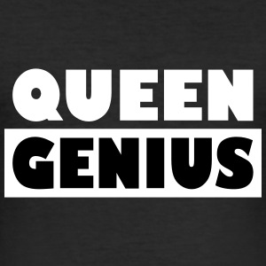 Queen Genius - Männer Slim Fit T-Shirt