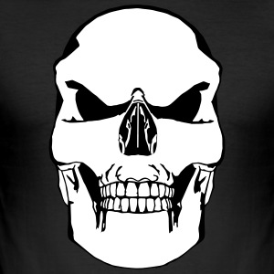 Vector Skull - Slim Fit T-skjorte for menn