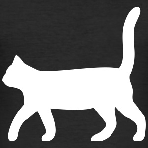 black cat - Men's Slim Fit T-Shirt