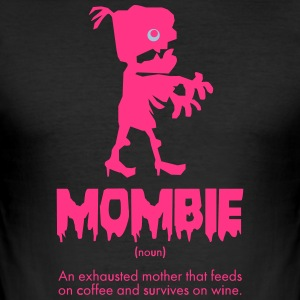 mombie - Männer Slim Fit T-Shirt