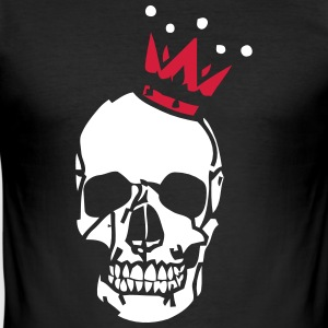 Skull Crown - Slim Fit T-skjorte for menn