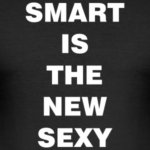 smart is the new sexy - Männer Slim Fit T-Shirt