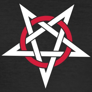 pentagram - Slim Fit T-shirt herr