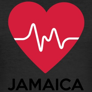 Hearz Jamaica - Men's Slim Fit T-Shirt