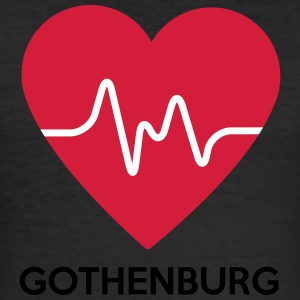 heart Göteborg - Herre Slim Fit T-Shirt