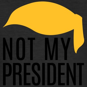 Not my President Trump - Men's Slim Fit T-Shirt