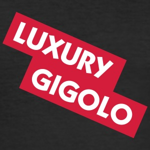 Luxus Gigolo - Männer Slim Fit T-Shirt