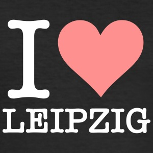 I Love Leipzig - Men's Slim Fit T-Shirt