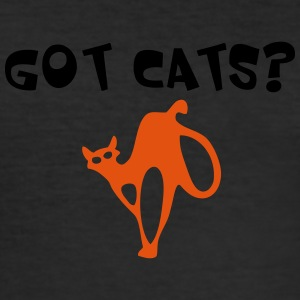 GOT CATS - Slim Fit T-skjorte for menn