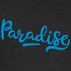 paradis - Slim Fit T-skjorte for menn