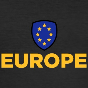 Unionens flag for Europa - Herre Slim Fit T-Shirt