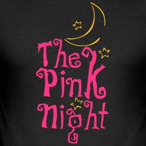 Pink Night - Herre Slim Fit T-Shirt