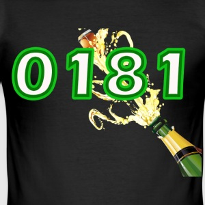 0181 Party like there's no tommorow! - Men's Slim Fit T-Shirt