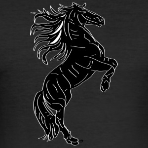 Black Horse - slim fit T-shirt