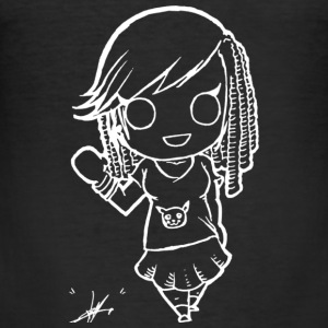 Djennifer Chibi - Slim Fit T-shirt herr