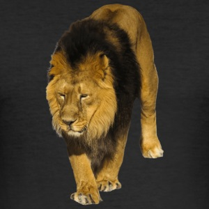 Lion - Slim Fit T-shirt herr
