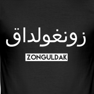Zonguldak - Men's Slim Fit T-Shirt