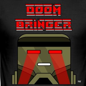 Doom Bringer - Slim Fit T-skjorte for menn