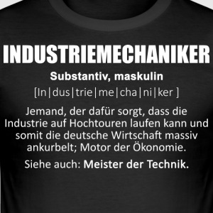 Industriemechaniker/Industrie/Industriemechanik - Männer Slim Fit T-Shirt