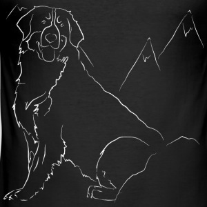 Berner Sennenhund - Slim Fit T-skjorte for menn