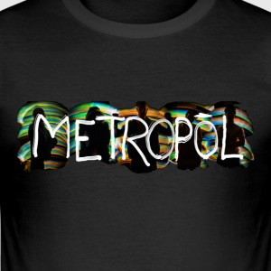 Metropol Light Strikes - Camiseta ajustada hombre