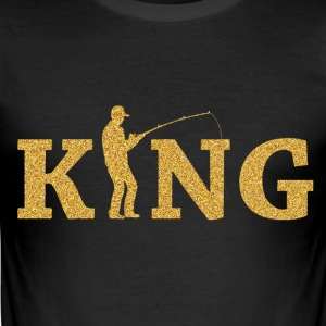 Fishing King - Men's Slim Fit T-Shirt