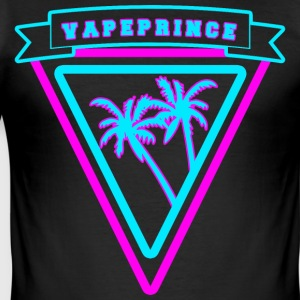 Vapeprince - Slim Fit T-skjorte for menn