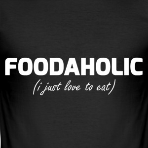 foodaholic - Slim Fit T-shirt herr