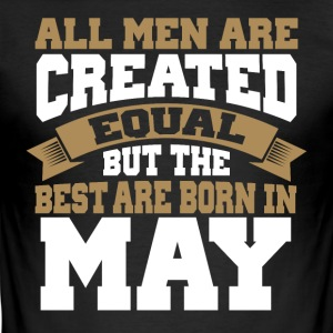 Men's Birthday May - Men's Slim Fit T-Shirt