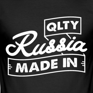 Qlty MADE IN RUSLAND - Herre Slim Fit T-Shirt