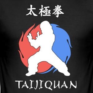 Taijiquan | Tai Chi - Slim Fit T-skjorte for menn