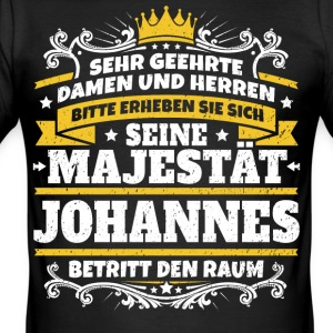 His Majesty John - Men's Slim Fit T-Shirt