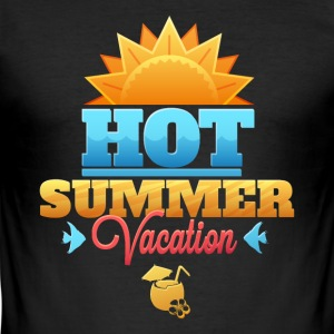 Summer vacation Summer holidays - Men's Slim Fit T-Shirt