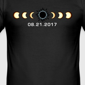 Total Sonnenfinsternis August 21 2017 Shirt - Männer Slim Fit T-Shirt