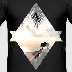 Jetty in het paradijs - slim fit T-shirt