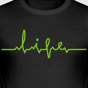 Life Creative Design - Men's Slim Fit T-Shirt