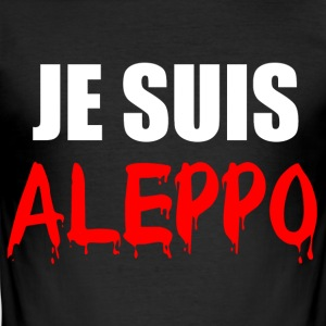 Je Suis Aleppo - Men's Slim Fit T-Shirt