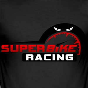 super racing - Slim Fit T-shirt herr