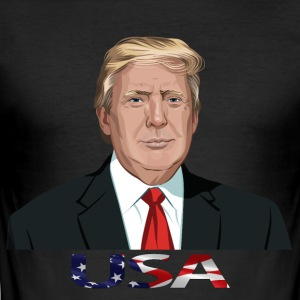 TRUMP PRESINDENT - slim fit T-shirt