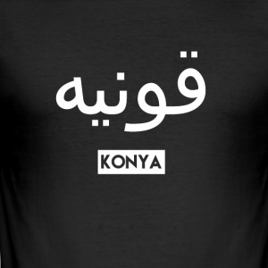 konya - Slim Fit T-shirt herr